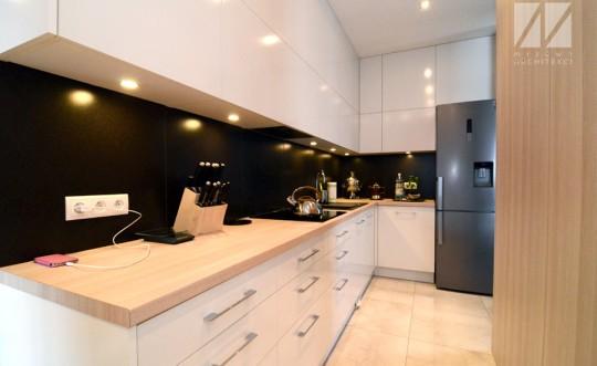 architekt łódź_projekt małej kuchni_01
