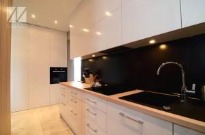 projekt aranżacji wnętrza małej kuchni