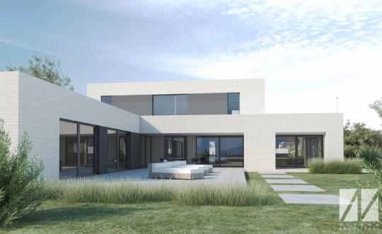 mrzewaarchitekci_projekt domu z basenem