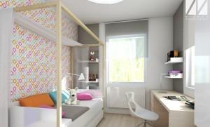 architekt_projekt wnetrza_projekt pokoju dziecka 01